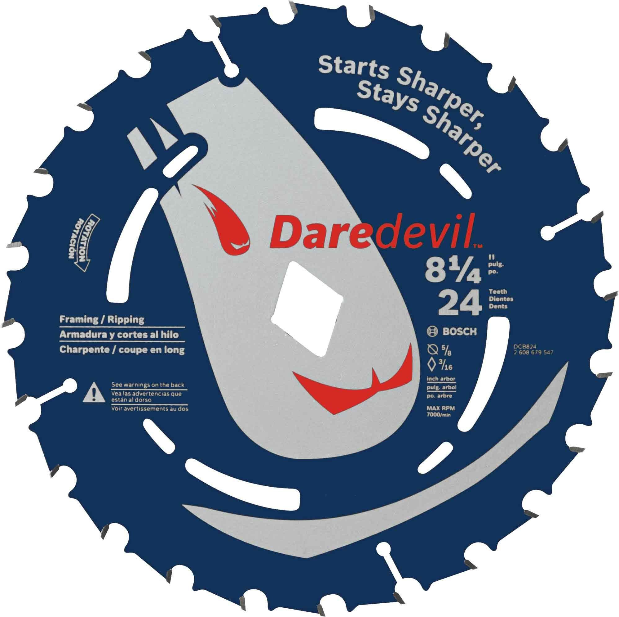 Bosch Dcb824 81 4 In 24 Tooth Daredevil Portable Saw Blade Framing Have A Look At The Image By Seeing The Web Link Circular Saw Blades Saw Blade Table Saw