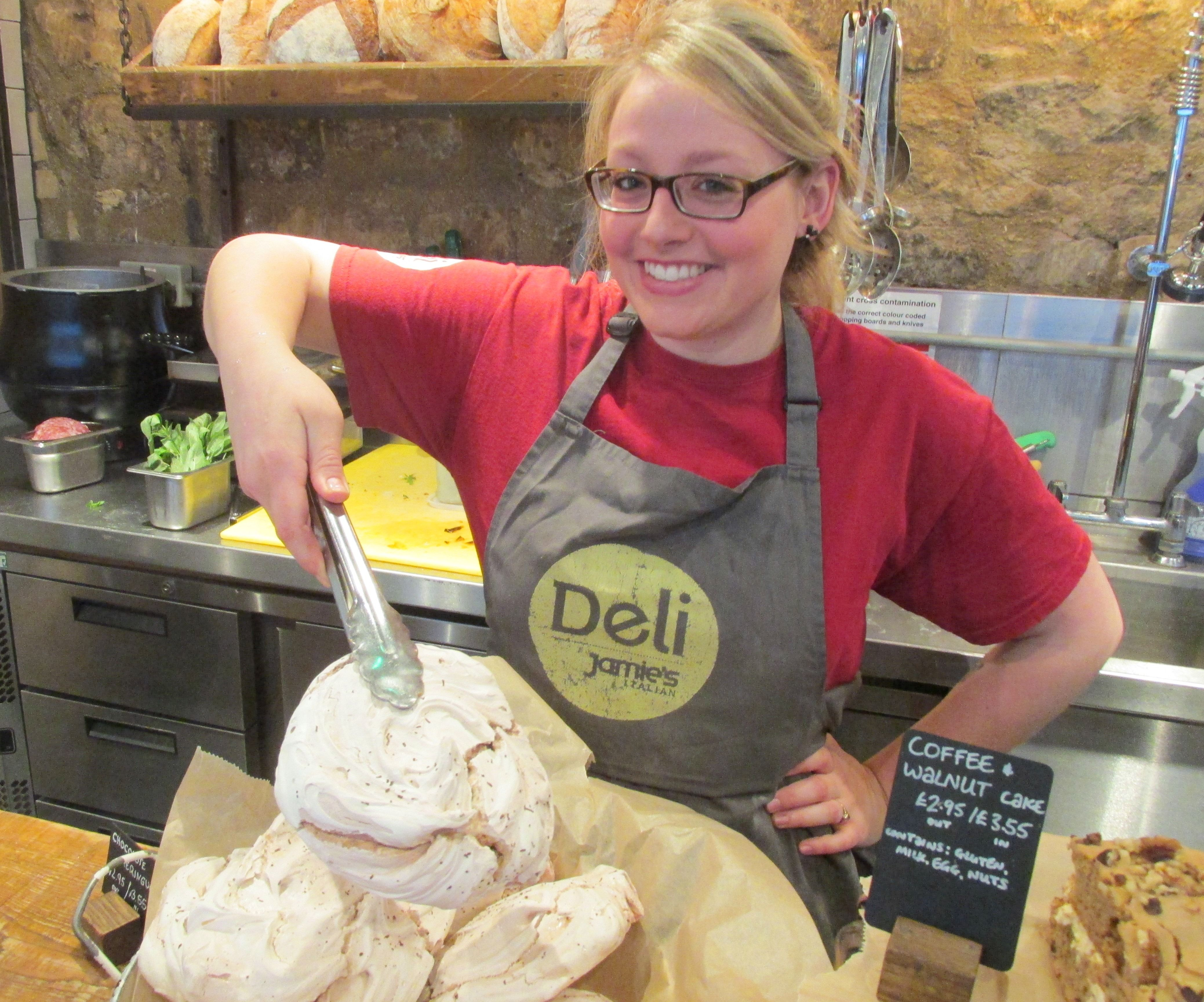 If it's a meringue you're after, they don't come too much bigger than those in the Deli at Jamie's Italian, Milsom Place