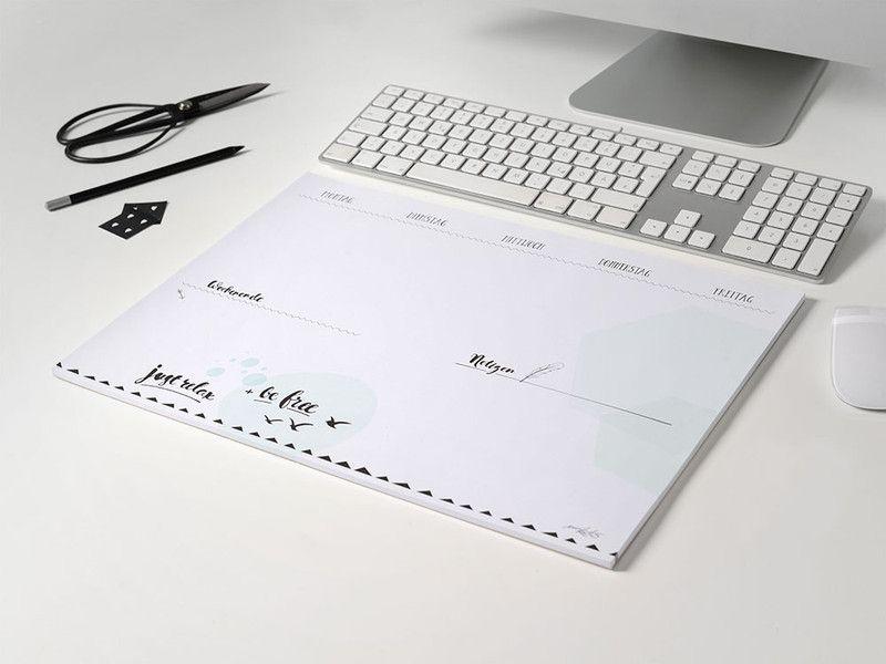 Schreibtischunterlage Aus Papier