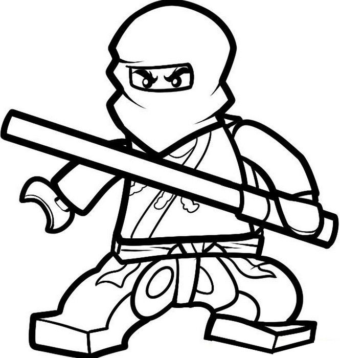 lego ninjago kleurplaten cole