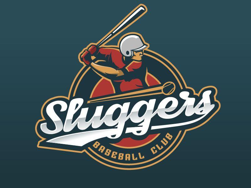 Sluggers Baseball Club Logo Slugger Cricket Club Logos