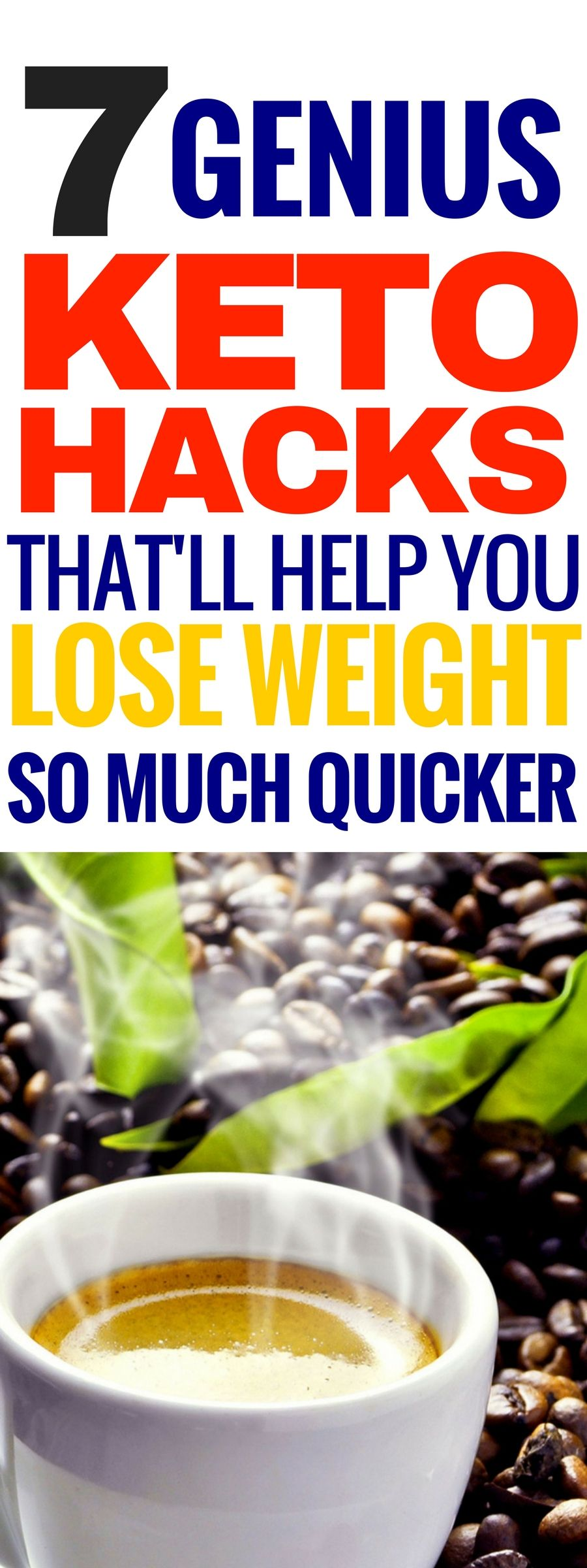 Lose weight above belly button