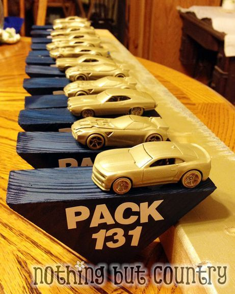 how to make a pinewood derby car