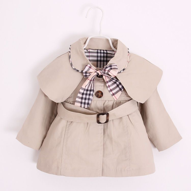 51739fbdc4ad 12-18 mons for  13 Newborn Baby Jacket Coat Cotton Bow Toddler Girls ...