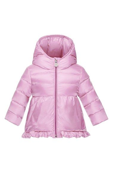 18f50e6f2 Moncler 'Odile' Hooded Down Jacket (Baby Girls) available at ...