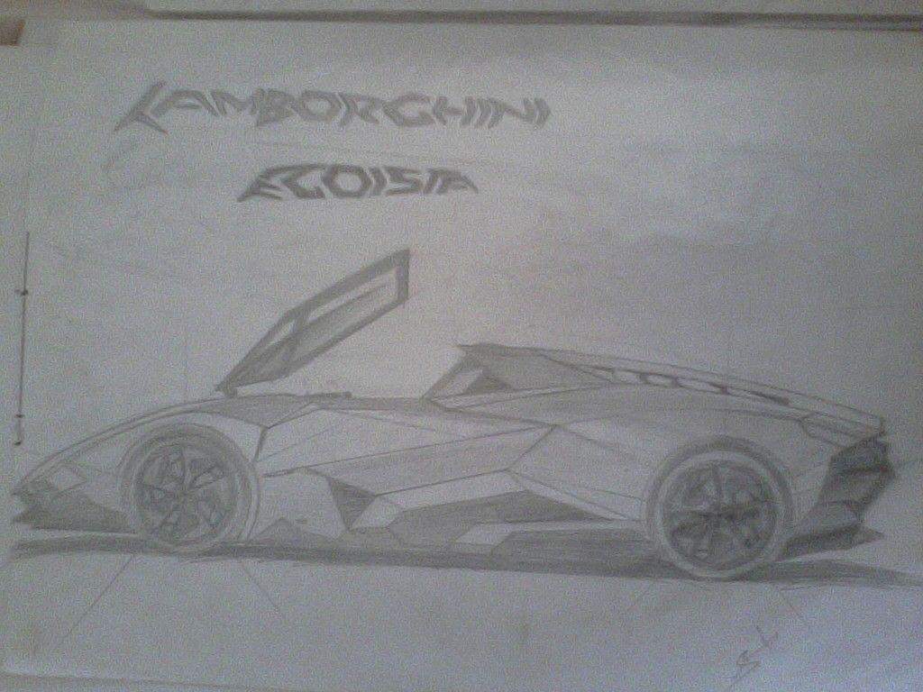 Lamborghini Egoist a designed Muhammad Shoaib Saleem | Sketches ...