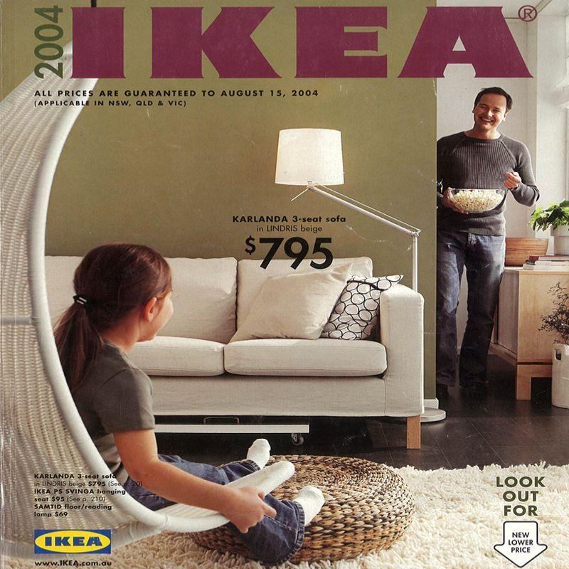 The 2004 Ikea Catalogue Ikea Catalog Catalog Cover