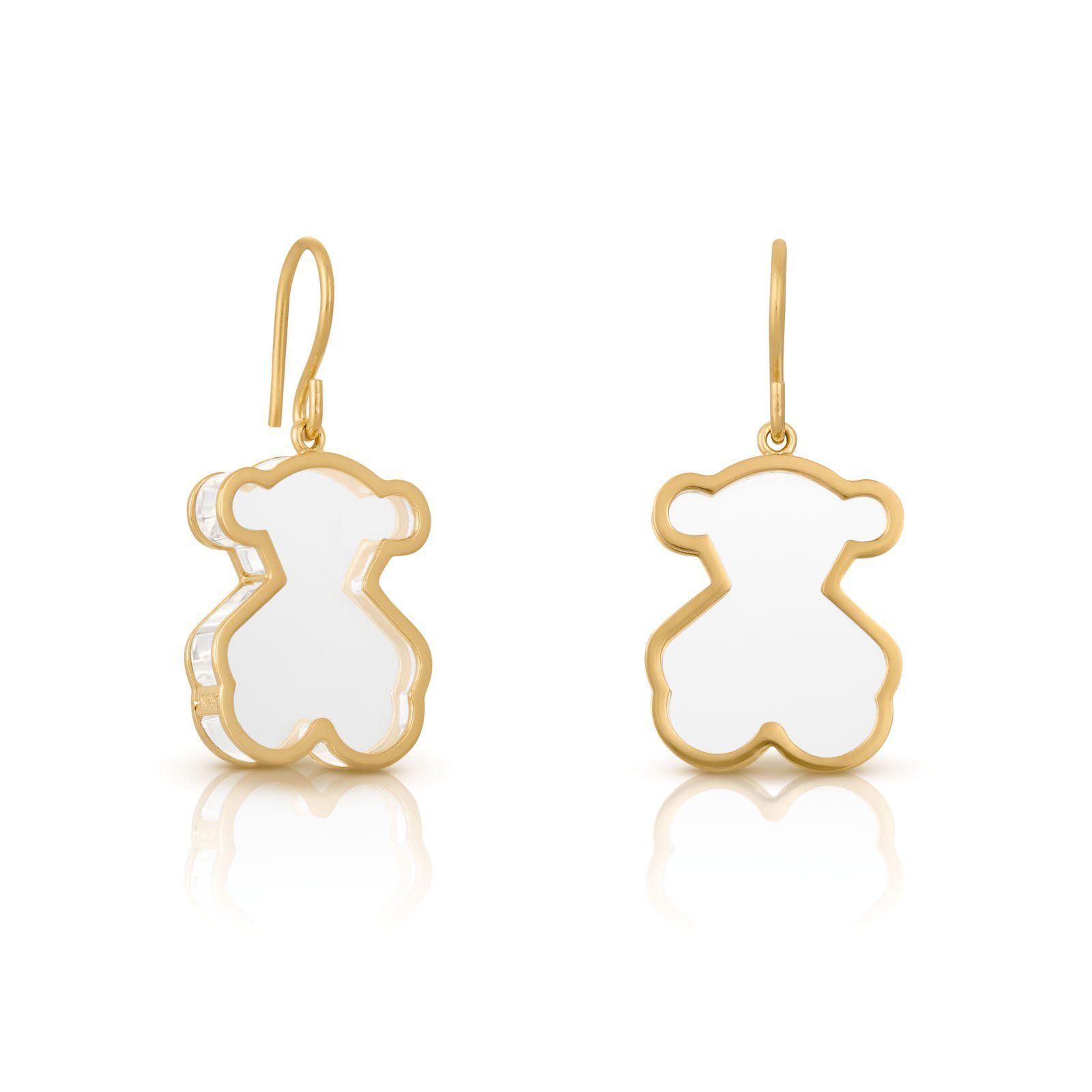 78fe07352 Vermeil TOUS Galaxy earrings. Motif: 2,2cm. - 7/8