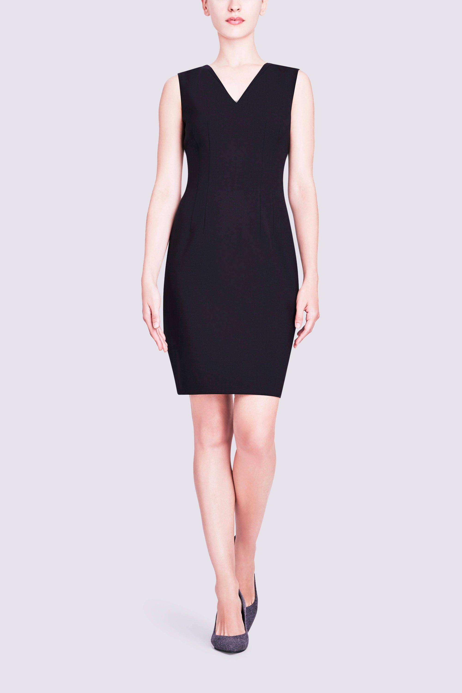 1fa5aa21468f Elie Tahari | Gwenyth V Neck Dress | Career Style | Dresses, V neck ...