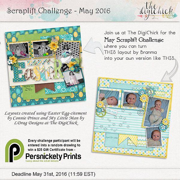 Scraplift Challenge - May 2016