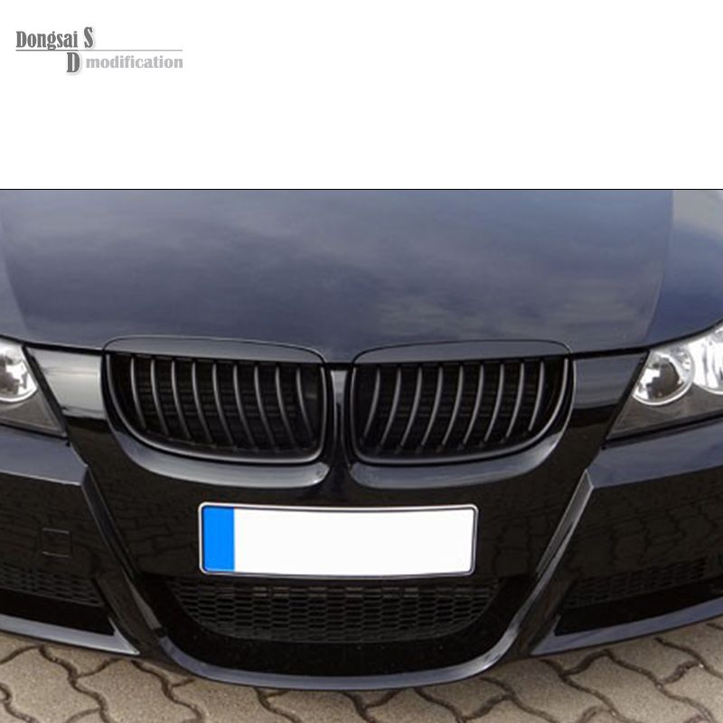 E90 M3 Look Kidney Black Grill Replacement For Bmw 3 Series E90