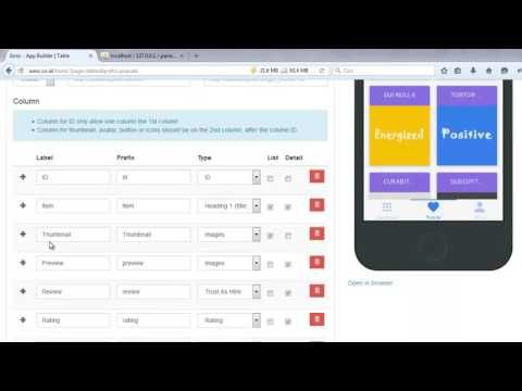 15 How To Build An App Without Coding Connect To Php Mysql Youtube Build An App Coding App