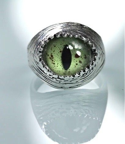 Sterling Silver Snake Eye Adjustable Ring by Blue Bayer Design NYC #inkedshop #ring #adjustable #eye #snakeeye