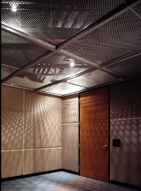 Perforated Metal Used As Perforated Ceiling Ceiling