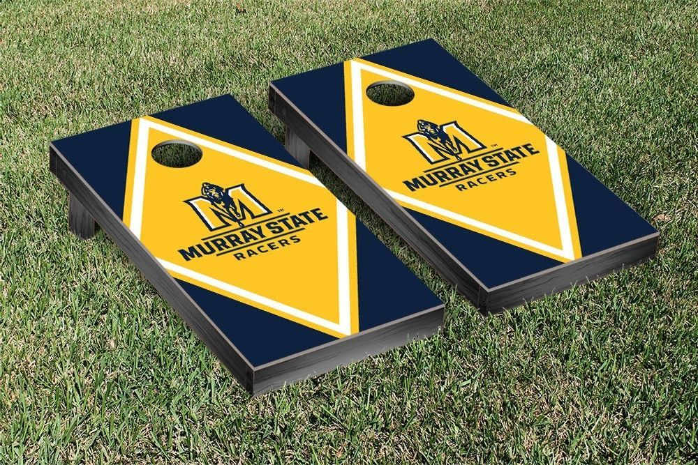 Remarkable A Bean Bag Toss Lawn Game Complete With A Murray State Ibusinesslaw Wood Chair Design Ideas Ibusinesslaworg