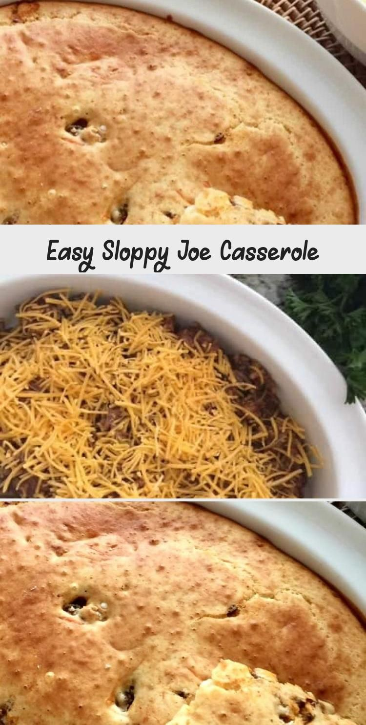This easy sloppy joe casserole is a comforting and hearty meal option and is easy on the budget too! #yummywinterrecipes #homemadesloppyjoes