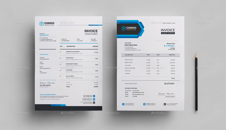 Invoice | Ejemplo de Factura | Pinterest