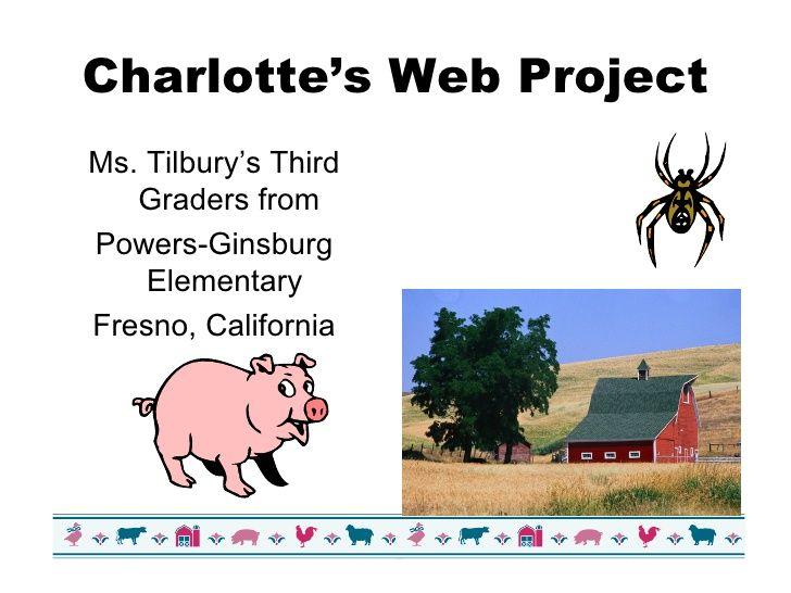 charlottes-web-project-20793 by iteachgate via Slideshare
