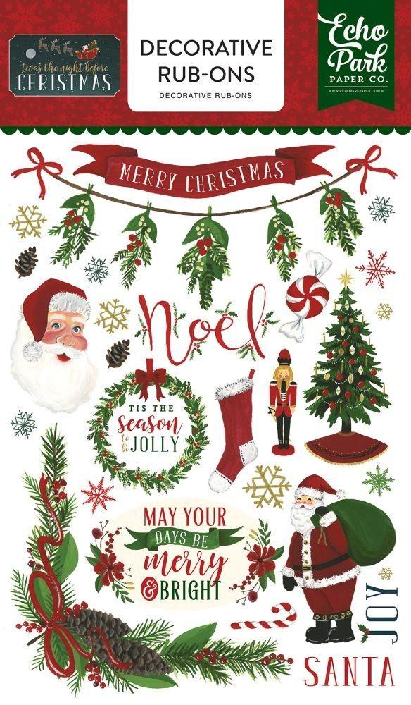Echo Park Christmas Tree Stencil