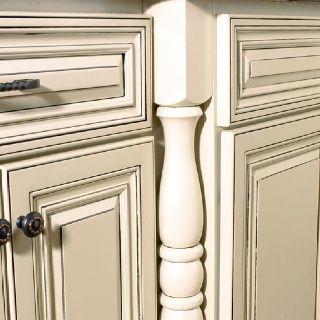 Grey Glazed Kitchen Cabinets Cream Cabinets With Grey