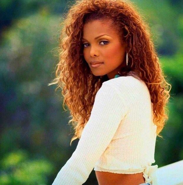 Janet Jackson Copper Red Hair Janet Jackson Janet Jackson 90s Women