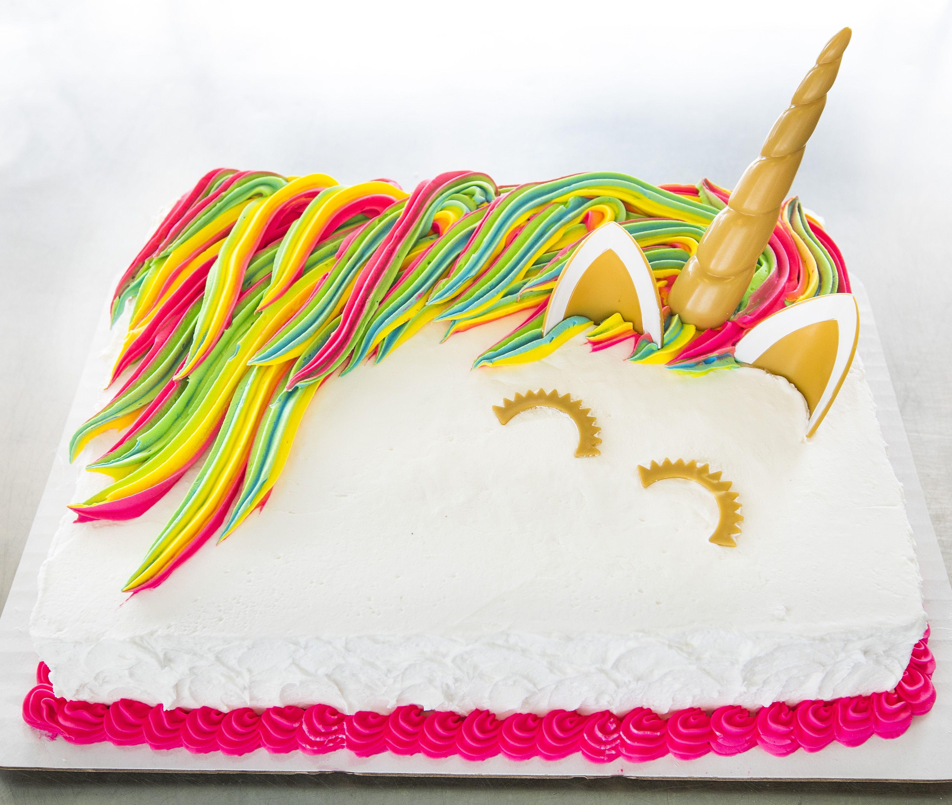 Unicorn Sheet Cake 228 Birthday Brunch Cakes Cute