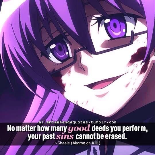 Akame ga Kill quote
