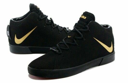 Nike LeBron 12 nsw lifestyle black  0bc6dc78a4