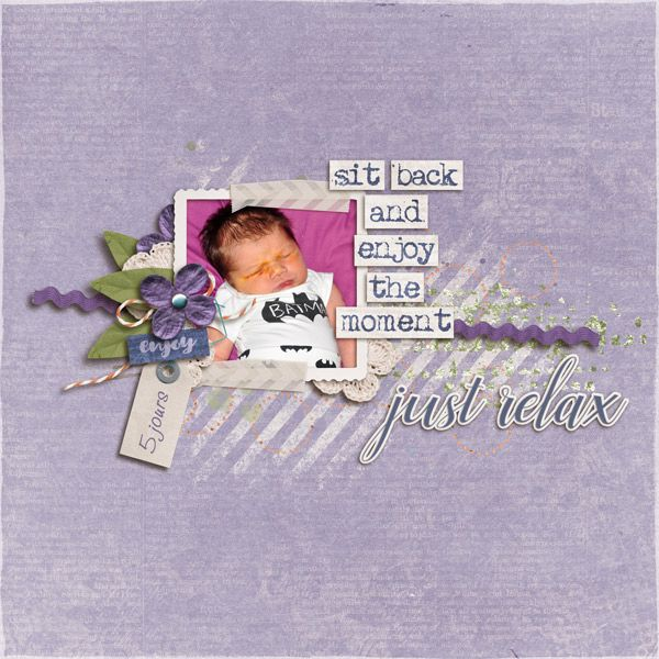 """JUST RELAX 