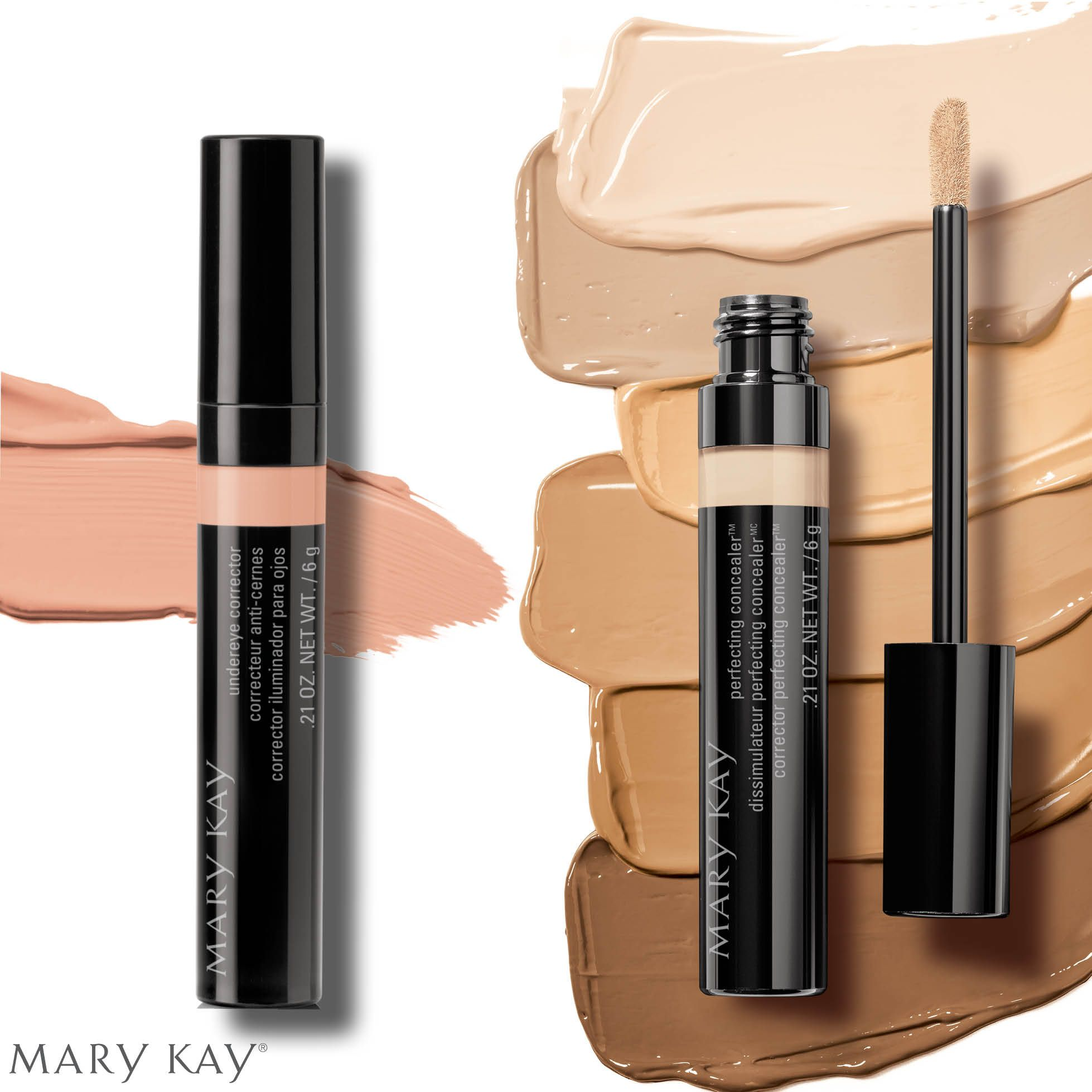 Introducing the new Undereye Corrector and Perfecting Concealer ♡