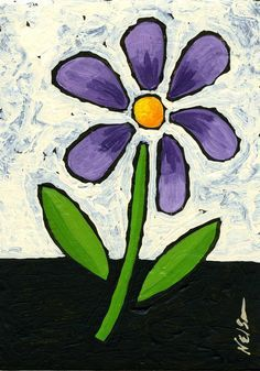Simple Flowers To Paint Google Search Easy Flower Painting