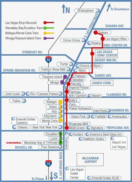 Vegas Tram Map Pin by Cathy Delano on Travel | Las vegas vacation, Vegas strip