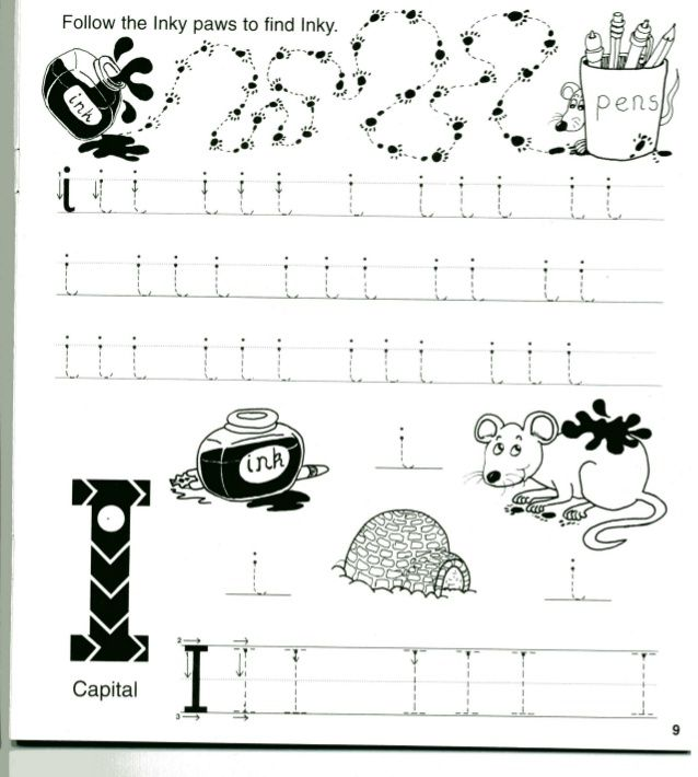 Kindergarten Jolly Phonics Worksheets