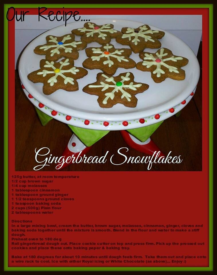 Awesome gingerbread cookies