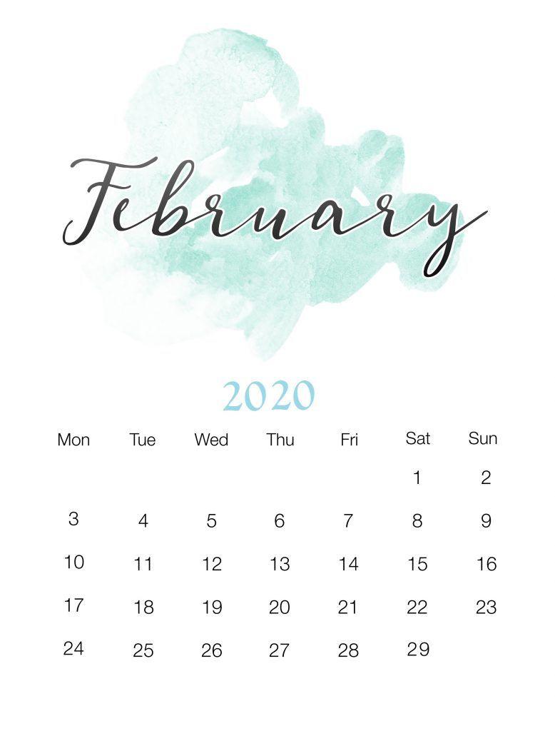 Best February 2020 Calendar Pechatnye Kalendari Planirovshiki