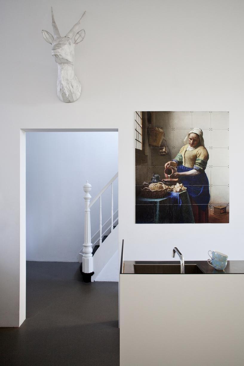 IXXI Melkmeisje Johannes Vermeer wanddecoratie | Kitchen design ...