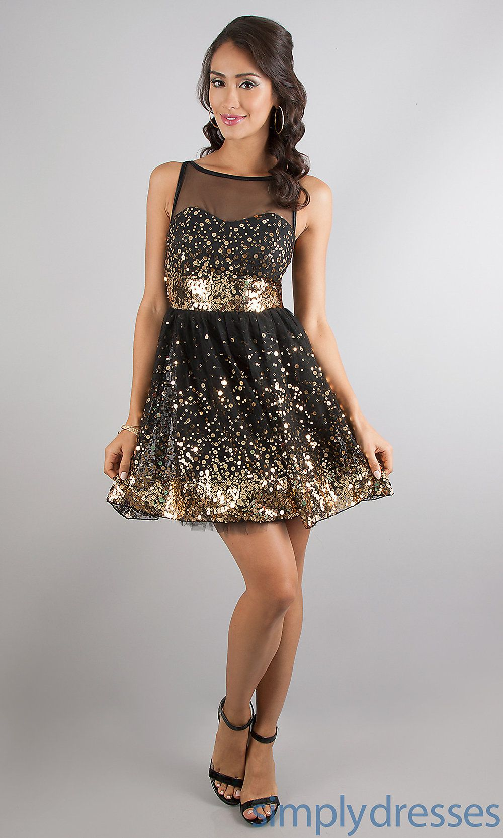 Gold Semi Formal Dresses Dress For The Night Pinterest Semi