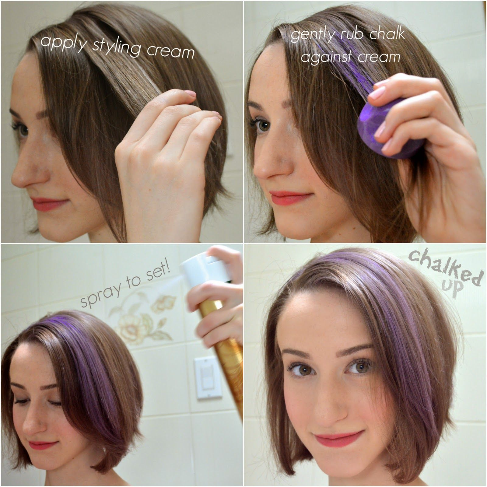 Comparing Kevin Murphy Color Bug Hair Chalk In Purple To The New L