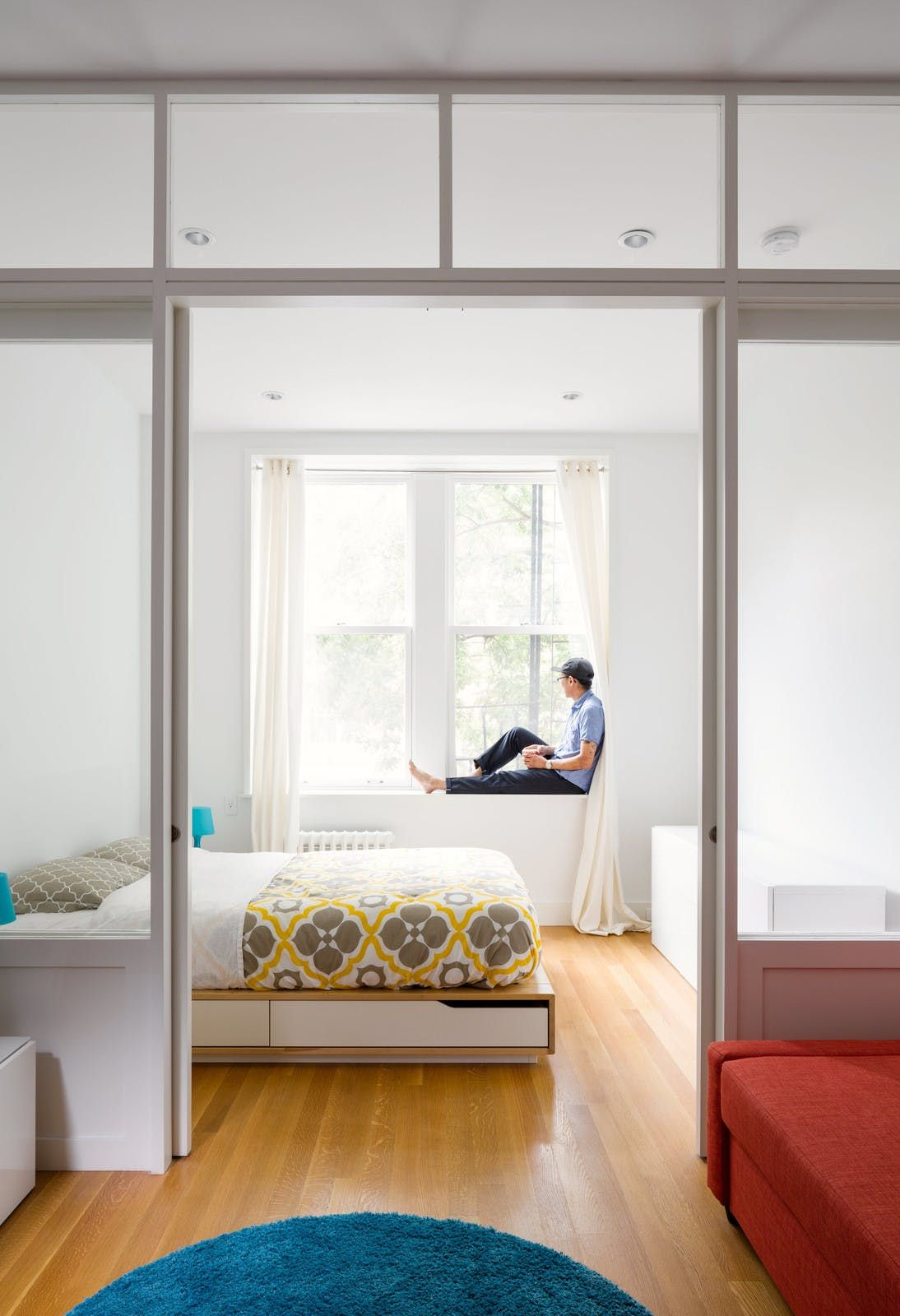 A Tiny Narrow New York Apartment Makes The Most Of 390 Square Feet Dwell