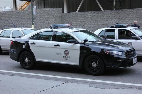 Los Angeles Ca Police Lapd Ford Police Interceptor Police