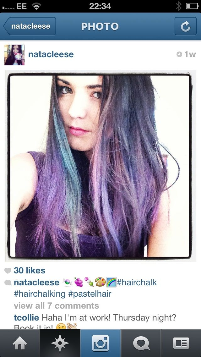 what chalk is best for hair chalking