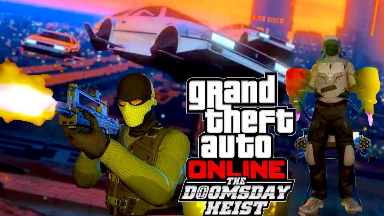 bfc00034935 GTA 5 THE DOOMSDAY HEIST JETPACK NEW WEAPONS NEW CARS