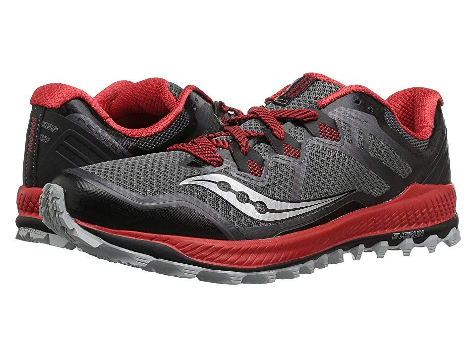 Saucony Mens Peregrine 8 GORE-TEX Trail Running Shoes Trainers Sneakers Black
