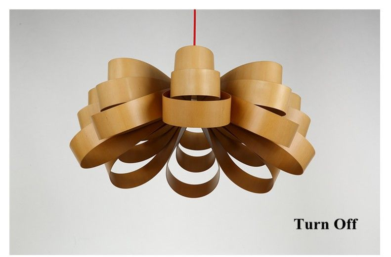 Classical rustic wood art Pendant Lights Handmade indoor floral ply wood chips E27 LED lamp for pavilion&porch&corridor BT276-in Pendant Lights from Lights & Lighting on Aliexpress.com | Alibaba Group