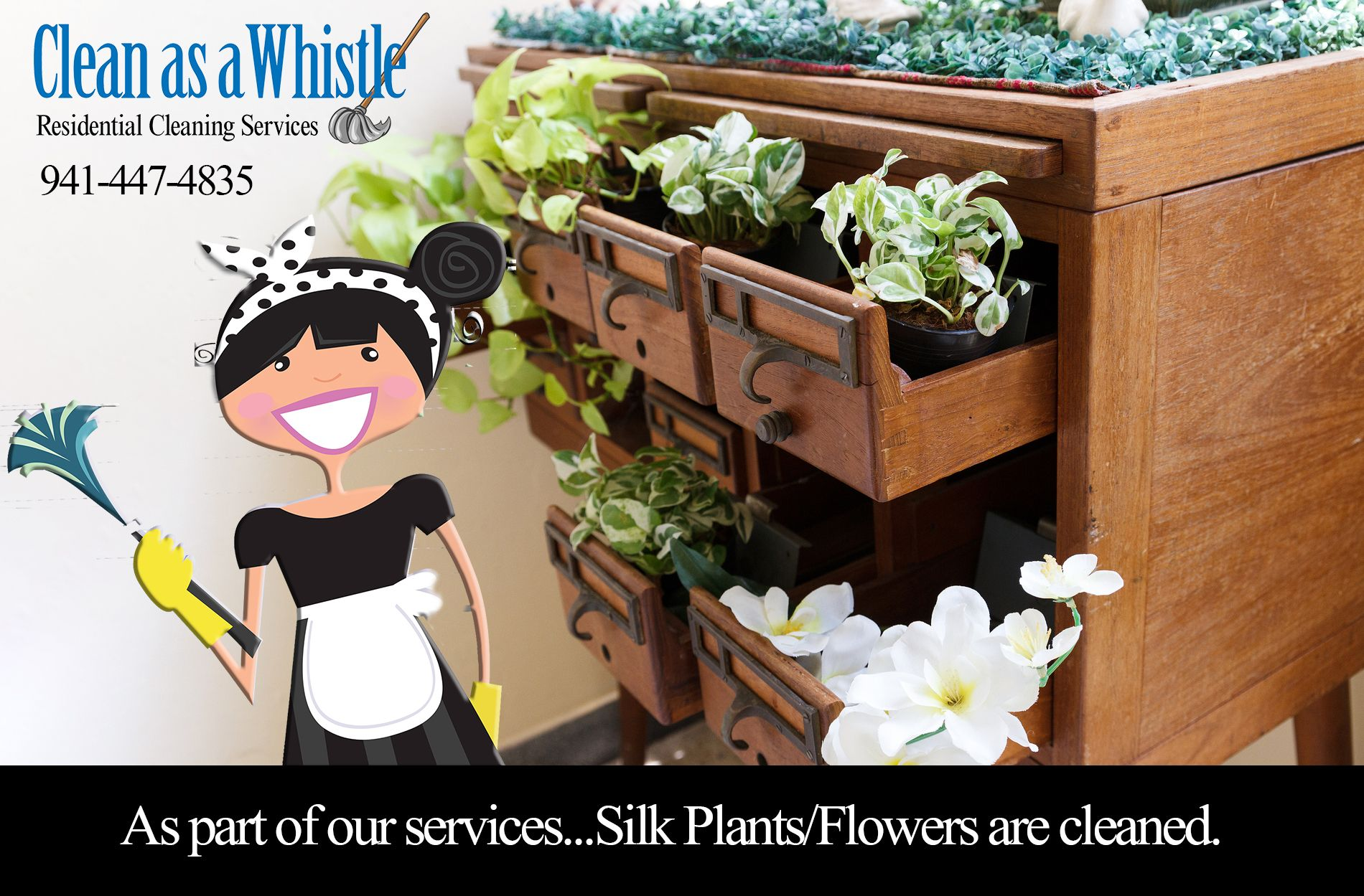 As Part Of Our Serviceslk Plantsflowers Are Cleaned