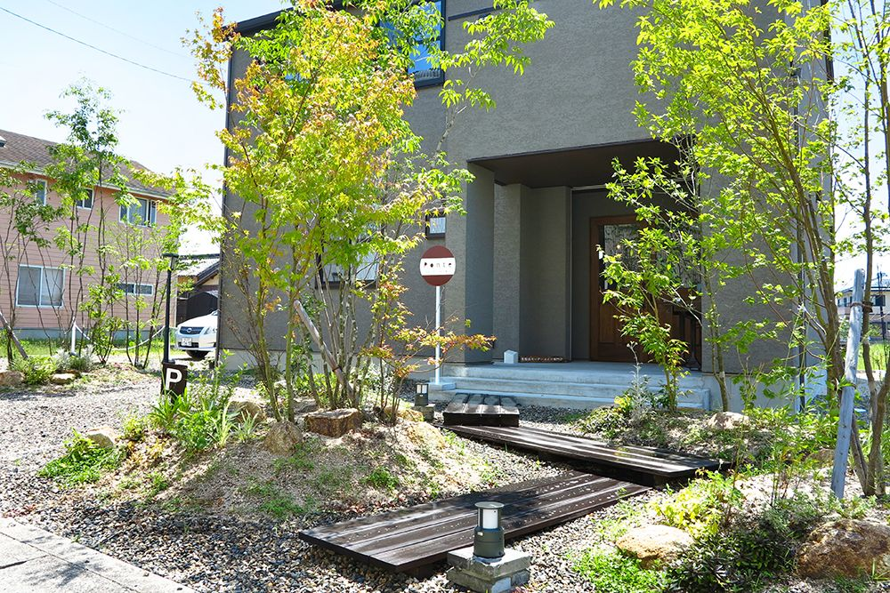 雑木の庭 砂利 Google 検索 庭 砂利 庭