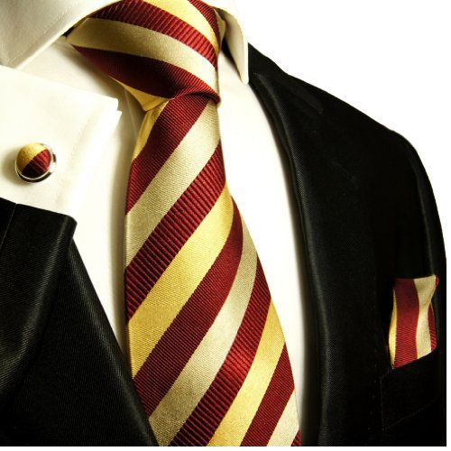 Paul Malone Extra Long Silk Necktie, Pocket Square and Cufflinks Maroon Gold  http://www.yourneckties.com/paul-malone-extra-long-silk-necktie-pocket-square-and-cufflinks-maroon-gold-2/