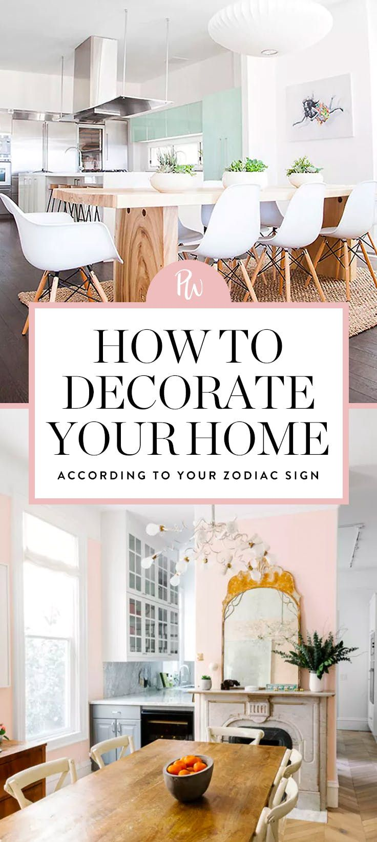 Your Decorating Style Based on Your Zodiac Sign   Home decor ...