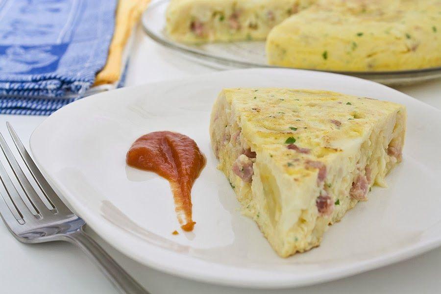e-cocinablog: tortilla de coliflor
