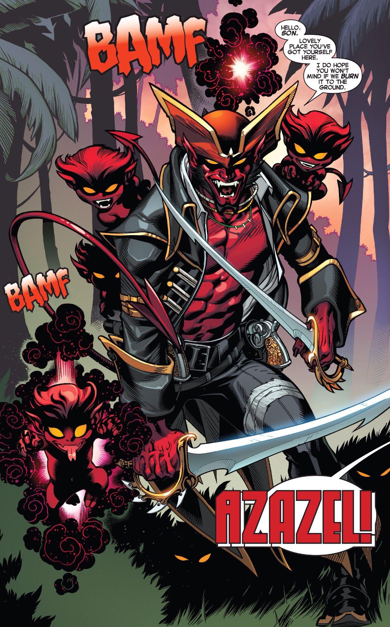 Azazel | Nightcrawler | Comic book villains, Marvel comics